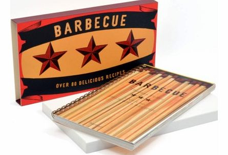 Barbecue Book - By Thomas FellerHere is a great way to impress your friends and family and become the KING of the BBQ, using recipes from this amazing barbecue cookery book, packed with over 80 recipes.Open this giant matchbox with a twist inside, yo