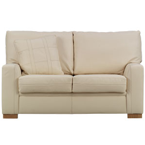 Exclusive to John Lewis, this compact hide sofa co