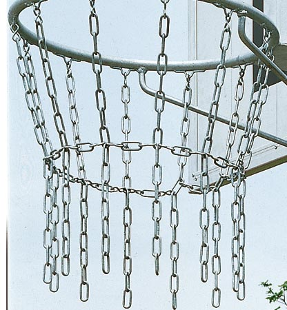 Made of galvanised chain with fixing hooks