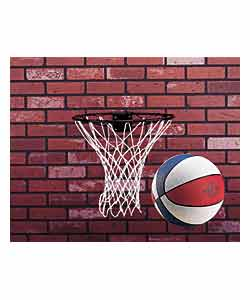 Pro Action Basketball Ring/Net and Ball Set