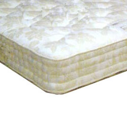 The ultimate in luxury for a bedstead mattress-extra rows of hand side stitching for extra comfort