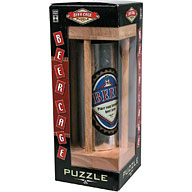 A very similar idea to the Wine Bottle Puzzle but this time a can of the recipients favourite beer i