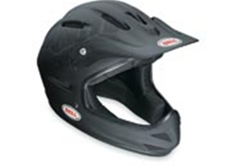 A Full face helmet that offers serious protection. If youre into Down Hill and BMX riding then this