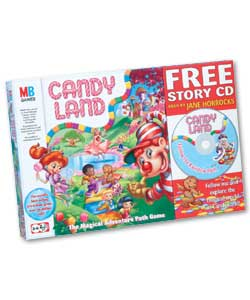 Take an adventure through Candyland and be the fir
