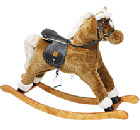 Sprightly Caramel comes with padded saddle, reins,