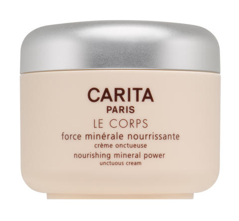 Unctuous cream for the bodyNourishing mineral power, a complete daily beauty-care product for even