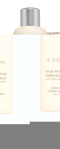 Dry oil for the bodySatining mineral power contains the essential minerals needed by skin cells for