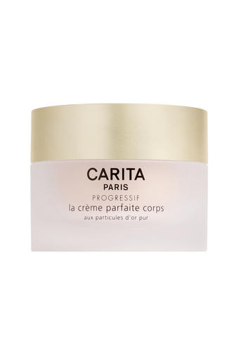 Body cream with real gold particlesExceptionally effective anti-ageing repairing treatment that
