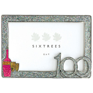 Unbranded Celebration 100th Birthday Photo Frame