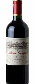 Calon-Ségur is one of the top properties of the St-Estèphe commune in the Médoc, and is instantly recognisable to any lover of fine Bordeaux. This 2004 is drinking beautifully now, and shows a classic Calon profile of cedarwood and graphite on the