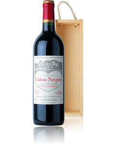 Presented in a stylish wooden gift box. `A dense, traditionally crafted wine for those with patience