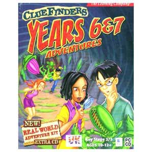 Cluefinders School Year 6-7 PC / Mac CD