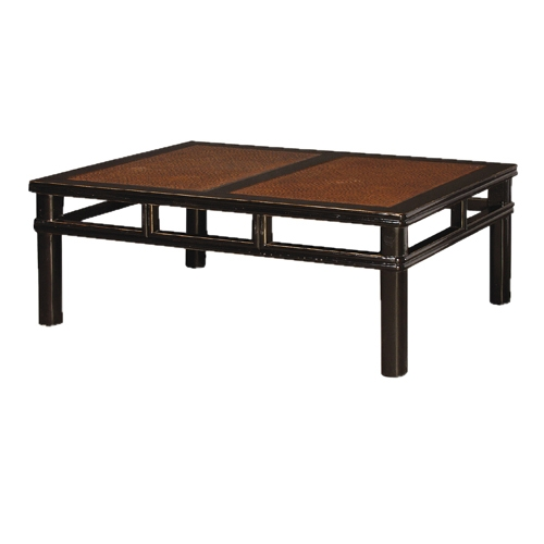 Coach House Shanxi Coffee Table With Rattan Review