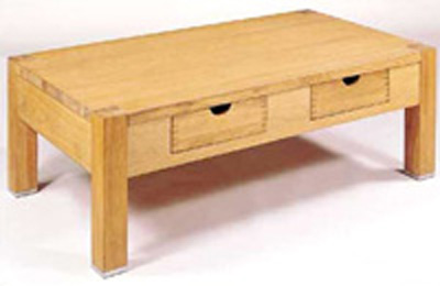 A beautiful piece of contemporary furniture with outstanding craftsmanship. The Oak finish is make