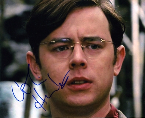 Signed in blue pen by Colin Hanks. Certificate of Authenticity no. 0100000435