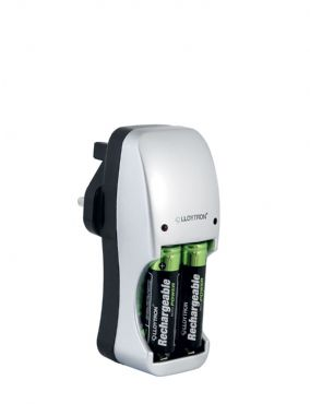 Unbranded COMPACT BATTERY CHARGER AND BATTERIES