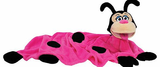 Snuggle up to CuddleupPets. Bring Pink Ladybird to life as a puppet or get warm and toasty when sheandrsquo;s a blanket. This colourful characterandrsquo;s great for imaginative play or cuddling up to at nap-time Super-soft Pink Ladybirdandrsquo;s al
