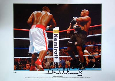 On Friday 31st July 2004 Danny Williams caused one of the biggest upsets in boxing history by knocki