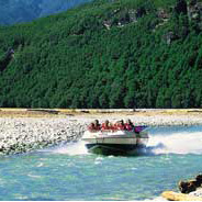 Experience the thrill of jet boating along the picturesque Dart River valley then explore ancient be