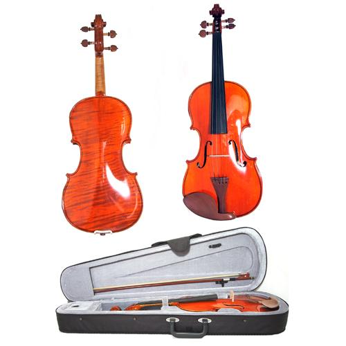 Deluxe 1/2 size Violin by Gear4Music