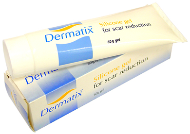 Dermatix is a Topical Silicone Gel that is transparent, self-drying and maintains the skins