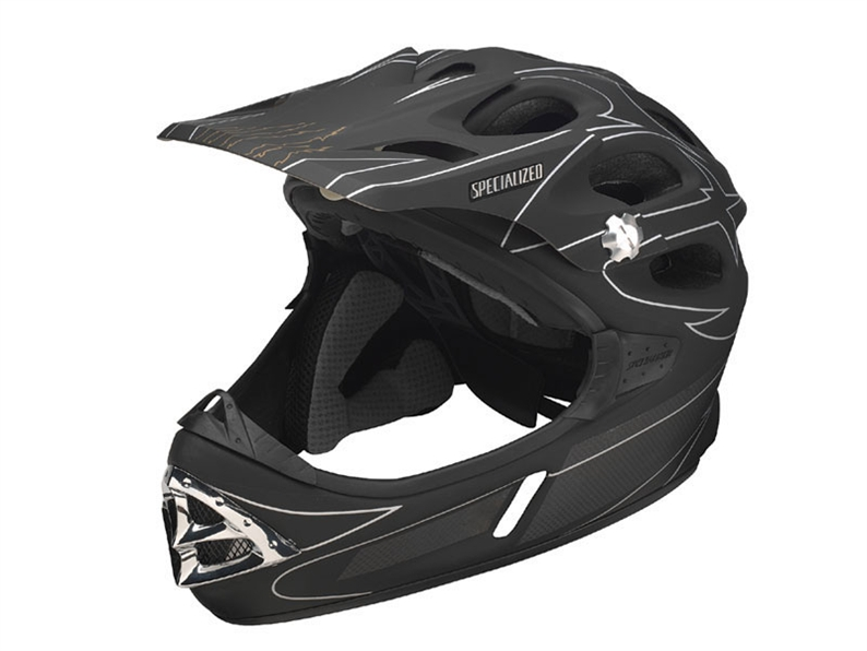 This highly ventilated full-face helmet is as breezy as many XC helmets, and thanks to its full