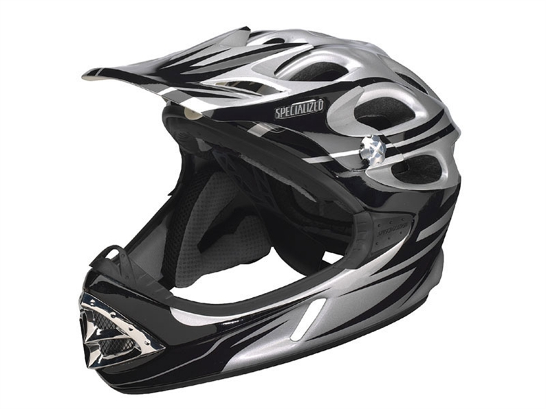 This highly ventilated full-face helmet is as breezy as many XC helmets, and is the lightest in its