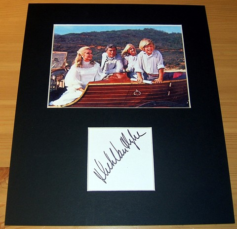 The signature of actor Dick Van Dyke - professionally mounted alongside a quality colour photograph