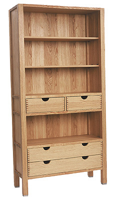 A beautiful piece of contemporary furniture with outstanding craftsmanship. The dual storage of