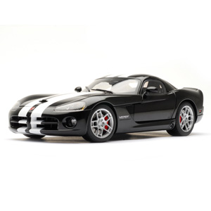 Unbranded Dodge Viper SRT10 coupe 2006 - Black/white