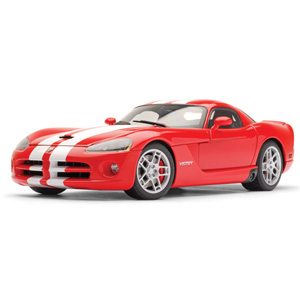 Unbranded Dodge Viper SRT10 coupe 2006 - Red/white stripes