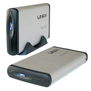 This innovative hard disk enclosure not only allows you to create a portable external hard drive  it