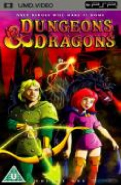 Dungeons And Dragons Volume 1 UMD Movie PSP
