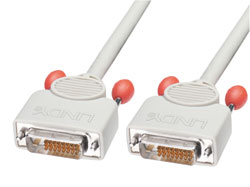 DVI-D Dual Link CableIdeal for use as an LCD monitor cable or DVI projector cable Dual Link digital