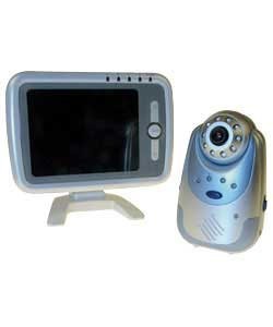 5.6in monitor and camera set.Analogue.150m range.4 channels.Volume control.Voice activated CMOS low