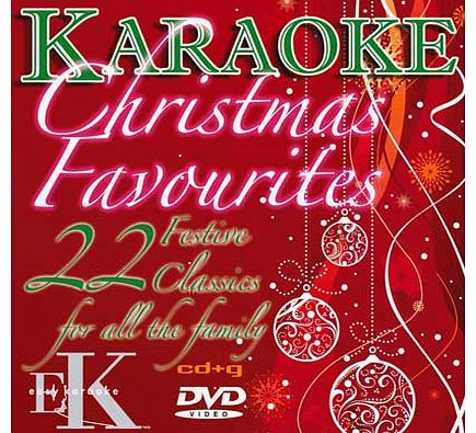Unbranded Easy Karaoke Christmas Favourites CD G and DVD