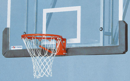 For basketball backboards to reduce the risk of injury