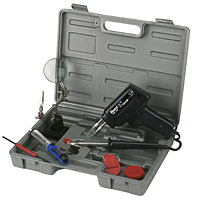 230V. Quality Soldering Kit supplied in a carry case