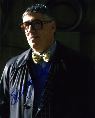 Great photograph of the superb actor Elliott Gould - signed in blue pen. Certificate Of