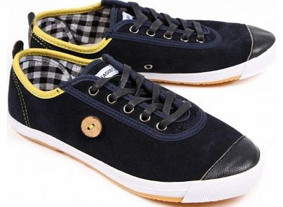 Suede leather Color: Navy blue - other color: Grey Casual and trendy spirit Round toe, laces closing system, rubber soles, checkered cotton lining, removable interior comfy soles, yellow coatings, coconut button sewed on the shoe side Unisex model