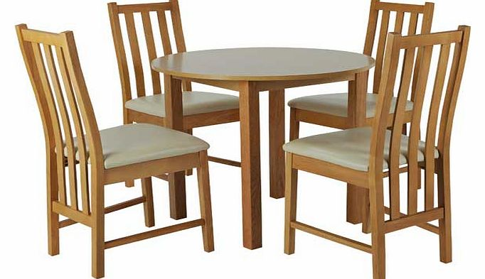 Circular Dining Tables And Chairs George Home Winston