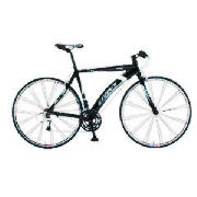 This Exodus Arc city road bike is built for on road use and comes in gloss black. The Arc road bike