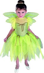 Includes tinkerbell dress and wings.