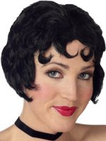 Black Betty Boop style wig.