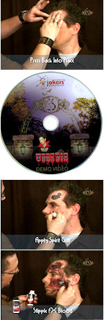 Bring Hollywood into your home with this 33 minute instructional DVD for how to apply Woochie prosth