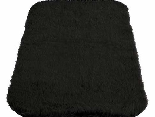 Super soft faux fur pile rug. 100% acrylic 30%. Non-slip backing. Size L120. W75cm. Weight 1kg. (Barcode EAN=5053095026535)