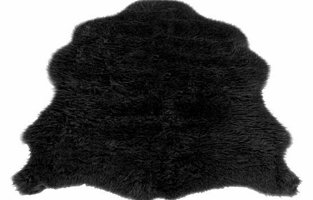 Super soft faux fur pile rug. 100% acrylic 30%. Non-slip backing. Size L90. W75cm. Weight 0.7kg. (Barcode EAN=5053095026528)