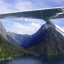Soar over the spectacular Mount Aspiring and Fiordland World Heritage National Parks and experience