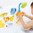 7 pairs of foam animals to share bathtime with
