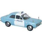 A recent addition to Trofeu`s 1/43 Ford Escort collection is a Mk.I 1300GT `Panda` police car